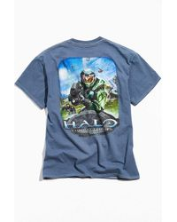 Urban Outfitters Halo Classic Tee - Blue