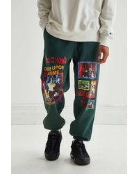 Urban Outfitters Boyz N The Hood Graphic Sweatpant - Green