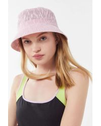 4cc5954c022 Urban Outfitters - Uo Ella Woven Bucket Hat - Lyst