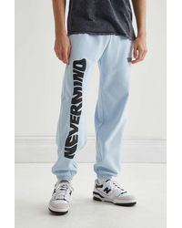 Urban Outfitters Nirvana Nevermind Sweatpant - Blue