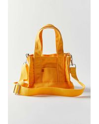 BDG Mini Canvas Tote Bag - Orange