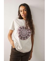 Urban Outfitters - Uo Medalion Boyfriend T-shirt - Lyst