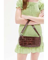 Urban Outfitters Crocodile Baguette Bag - Multicolour