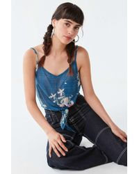 Urban Outfitters - Uo Quinn Tie-front Cami - Lyst