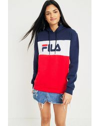 Fila | Colour-blocked Logo Hoodie | Lyst