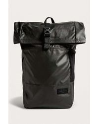 Eastpak - Macnee Rolltop Black Backpack - Lyst