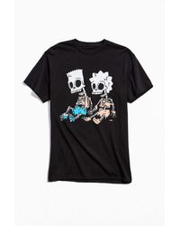 Urban Outfitters The Simpsons Hex And The City Tee - Black