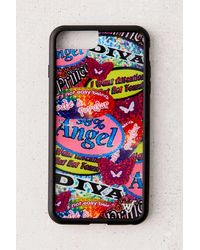 Wildflower Uo Exclusive Sticker Book Iphone Case - Multicolor