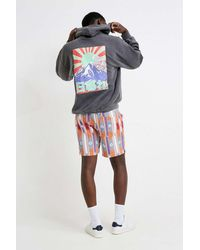 Urban Outfitters Uo Sunset Washed Black Hoodie