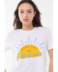 BDG - Hang Out And Fall In Love Tee - Lyst