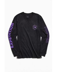 The North Face Double Sleeve Graphic Long Sleeve Tee - Black