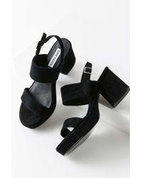 3ec8328fff Lucky Brand Reba Wedge Sandals in Brown - Lyst