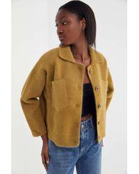 Six Crisp Days - Lust Wool Cropped Shirt Jacket - Lyst
