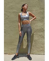 Heroine Sport Marvel Metallic Legging - Grey