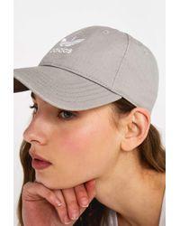 adidas Originals - Acid Wash Grey Baseball Cap - Womens All - Lyst 540154edbccd