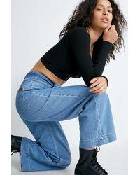 BDG Weite Jeans - Blau