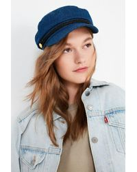 Urban Outfitters - Denim Captain Hat - Lyst