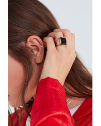 Urban Outfitters - Emile Square Stone Ring - Lyst