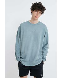 Urban Outfitters Uo Tomorrow Is A New Day T-shirt - Blue