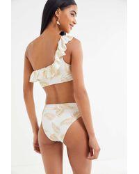 Urban Outfitters x Billabong Billabong X Sincerely Jules Dos Palmas High-waisted Rider Bikini Bottom - Multicolor