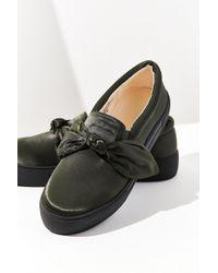 Urban Outfitters - Beau Satin Slip-on Sneaker - Lyst