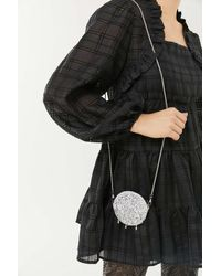 Urban Outfitters Teardrop Beaded Circle Crossbody Bag - Multicolour