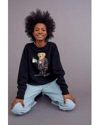 Polo Ralph Lauren Cocoa Bear Sweatshirt - Black