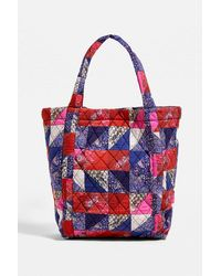 Urban Outfitters Uo Patchwork Quilt Tote Bag - Red