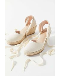 Urban Outfitters Uo Poppy Espadrille Wedge - Multicolor