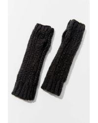 Urban Outfitters Boucle Fingerless Glove - Multicolor