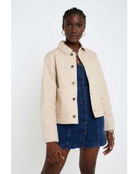 4ab071fa6 Stone Utility Jacket - Womens M - Natural