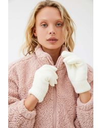 Urban Outfitters Chenille-lined Glove - Multicolour
