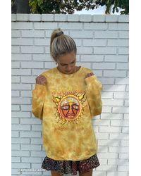 Urban Outfitters Sublime Tie-dye Crew Neck Sweatshirt - Multicolour