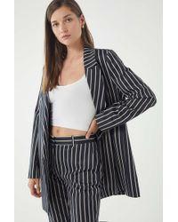 Just Female - Laurent Pinstripe Blazer - Lyst