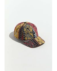 Urban Outfitters Uo Patchwork Paisley Baseball Hat - Multicolour