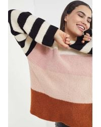 5d98e95c1a Urban Outfitters · Truly Madly Deeply - Caroline Stripe Sweater - Lyst