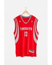 Urban Renewal Vintage Red Basketball Vest