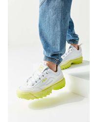 Urban Outfitters x FILA Fila Uo Exclusive Disruptor 2 Ombré Sneaker - Blue