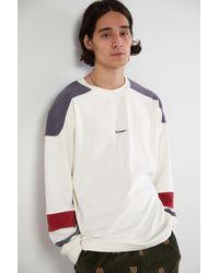 iets frans... Football Jersey Long Sleeve T-shirt - White