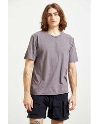 Standard Cloth Slub Raw Edge Tee - Multicolor