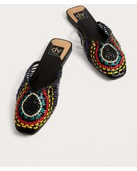 Dolce Vita - Black Woven Slide Sandals - Womens Uk 5 - Lyst