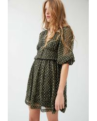 Urban Outfitters - Uo Printed Chiffon Dress - Lyst