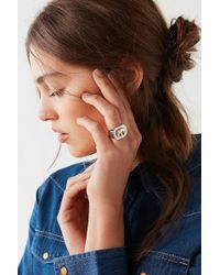 Urban Outfitters - Elephant Signet Ring - Lyst