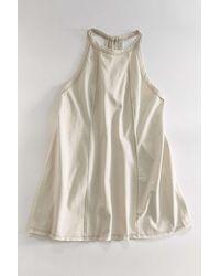 BDG Jackson Knit Trapeze Dress - Natural
