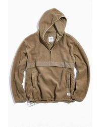 Katin Redding Fleece Hoodie Sweatshirt - Brown