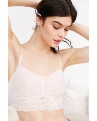 Sparkle & Fade - Scallop Lace Bralette - Lyst