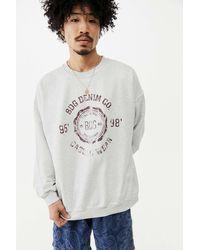 BDG Grey Stamp Sweatshirt