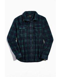 Dark Seas Plaid Button-down Shirt - Multicolor