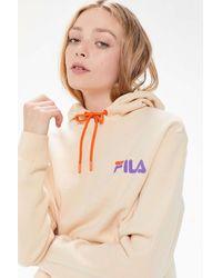 Urban Outfitters x FILA Fila Uo Exclusive Darena Hoodie Sweatshirt - Multicolor