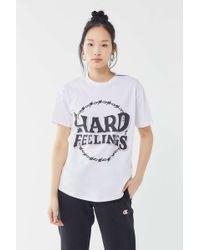 HOT LAVA Hard Feelings Tee - White